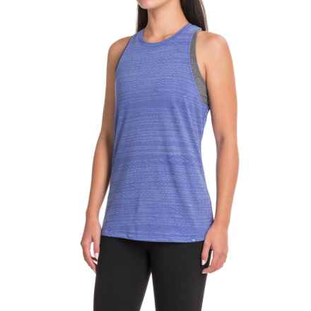 The North Face Burn It Tank Top (For Women) in Amparo Blue Heather - Closeouts