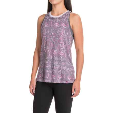 The North Face Burn It Tank Top (For Women) in Sweet Violet Boho All Over Print - Closeouts