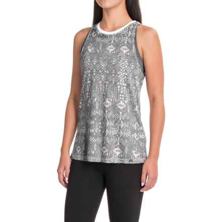 The North Face Burn It Tank Top (For Women) in Tnf Black Boho All Over Print - Closeouts