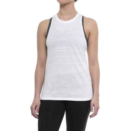 The North Face Burn It Tank Top (For Women) in Tnf White - Closeouts