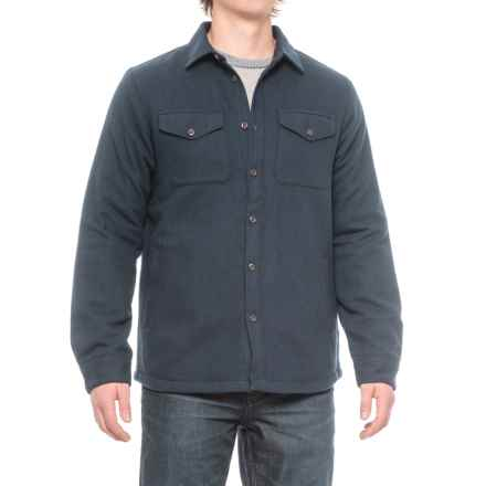 The North Face Cabin Fever Shirt Jacket (For Men) in Urban Navy - Closeouts