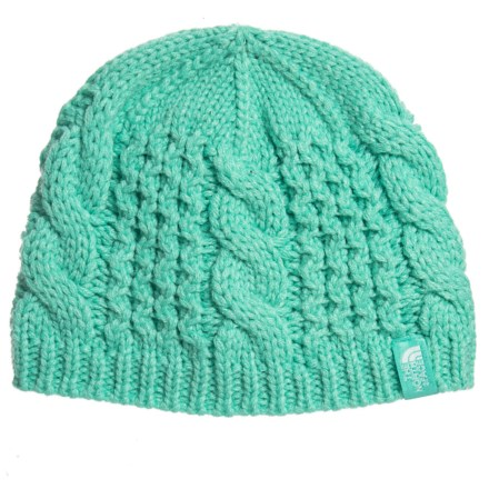 40a86f931e The North Face Cable Minna Beanie (For Little and Big Kids) in Bermuda Green