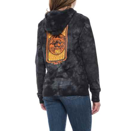 The North Face Cali Roots Hoodie (For Women) in Tnf Black Tie Dye - Closeouts