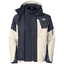 The North Face Cambria Triclimate HyVent Jacket - Waterproof, 3-in-1 (For Men) in Ether Grey/Deep Water Blue - Closeouts
