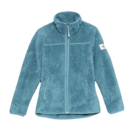 The North Face Campshire Full-Zip Jacket (For Big Girls) in Provincial Blue - Closeouts