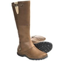 The North Face Camryn Winter Boots - Waterproof (For Women) in Trail Brown/Black - Closeouts