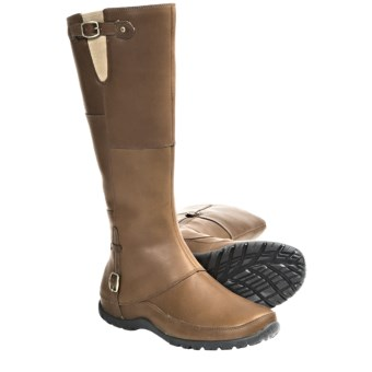 The North Face Camryn Winter Boots - Waterproof (For Women) in Trail Brown/Black