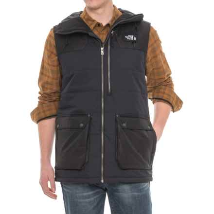 The North Face Camshaft DryVent® Vest - Hooded, Insulated (For Men) in Tnf Black - Closeouts