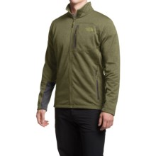 The North Face Canyonlands Fleece Jacket (For Men) in Scallion Green Heather - Closeouts