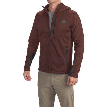 The North Face Canyonlands Hoodie (For Men) in Sequoia Red Heather/Asphalt Grey - Closeouts