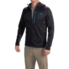 The North Face Canyonlands Hoodie (For Men) in Tnf Black/Monster Blue - Closeouts