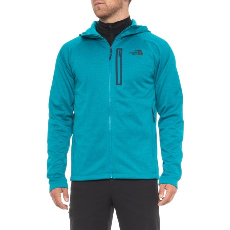 The North Face Canyonlands Hoodie - Zip Front (For Men) in Brlliant Blue Heather
