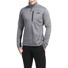 The North Face Canyonlands Jacket - Zip Neck (For Men) in High Rise Grey Heather - Closeouts