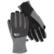 The North Face Canyonwall Etip Gloves - Touch-Screen Compatible (For Men) in High Rise Grey Heather - Closeouts