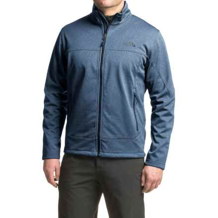 The North Face Canyonwall Jacket - Full Zip (For Men) in Shady Blue Heather/Shady Blue Heather - Closeouts