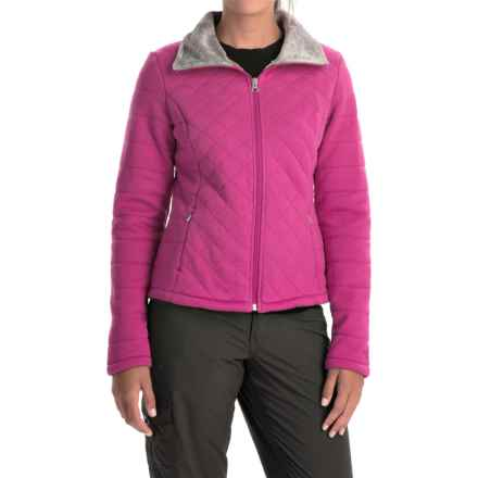 The North Face Caroluna Jacket (For Women) in Fuschia Pink - Closeouts