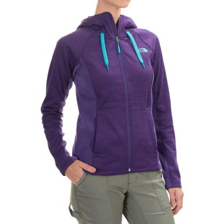 The North Face Castle Crag Hoodie Jacket - Fleece (For Women)