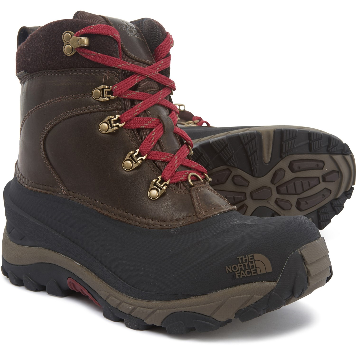 4036a5120 The North Face Chilkat II Luxe Boots - Waterproof, Insulated (For Men)