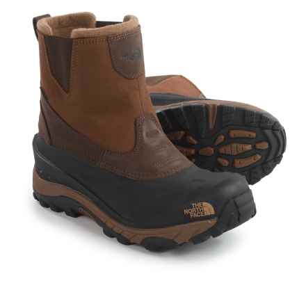 The North Face Chilkat II Winter Boots - Waterproof, Insulated (For Men) in Demitasse Brown/Sepia Brown - Closeouts