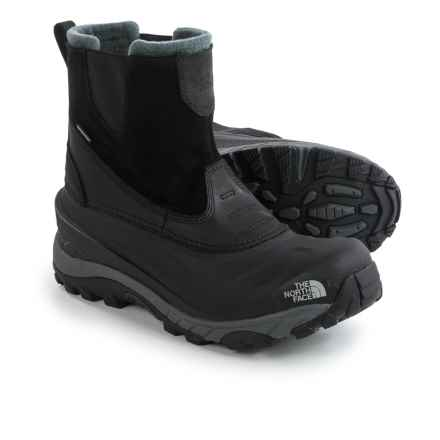 The North Face Chilkat II Winter Boots - Waterproof, Insulated (For Men) in Tnf Black/Tnf Black - Closeouts