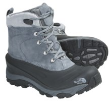 The North Face Chilkat II Winter Boots - Waterproof, Insulated (For Men) in Zinc Grey/Deep Water Blue - Closeouts