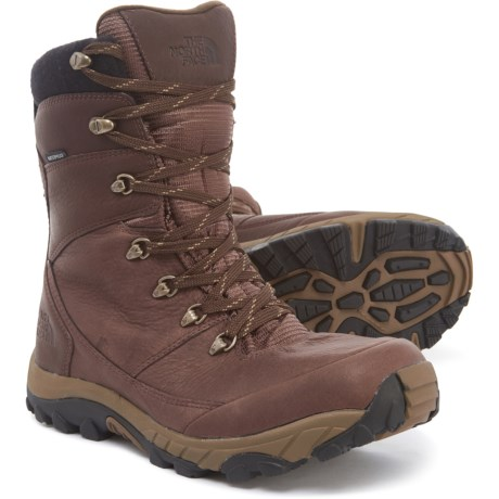 062d66b8f The North Face Chilkat Leather Tall Boots - Waterproof, Insulated (For Men)