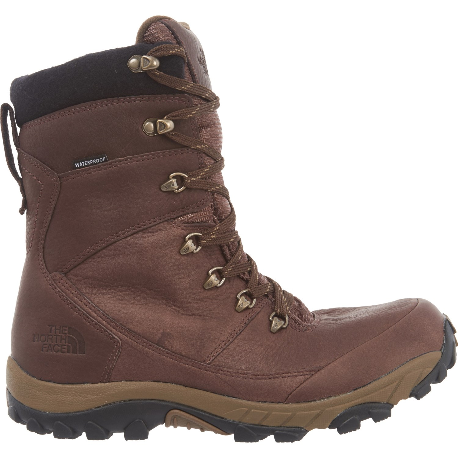 37afe1d165d The North Face Chilkat Leather Tall Boots - Waterproof, Insulated (For Men)