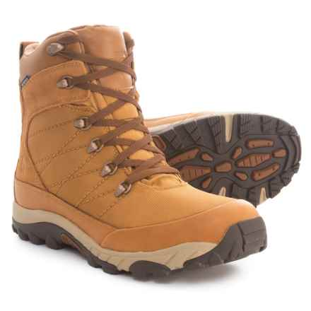 The North Face Chilkat Nylon Boots - Waterproof (For Men) in Bone Brown/Tagumi Brown - Closeouts