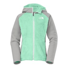 The North Face Chimboraza Fleece Jacket (For Little and Big Girls) in Surf Green - Closeouts