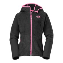 The North Face Chimboraza Fleece Jacket (For Little and Big Girls) in Tnf Black - Closeouts