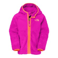 The North Face Chimboraza Fleece Jacket (For Little Girls) in Luminous Pink - Closeouts