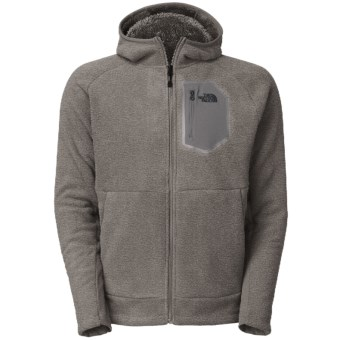 The North Face Chimborazo 2.0 Hooded Jacket - Fleece (For Men) in Heather Grey