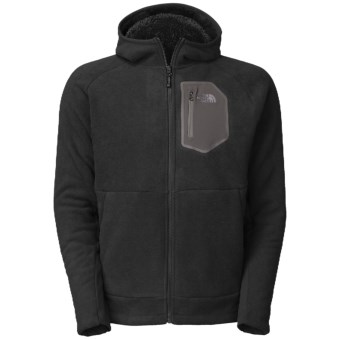 The North Face Chimborazo 2.0 Hooded Jacket - Fleece (For Men) in Tnf Black