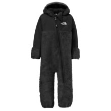 The North Face Chimborazo Fleece Baby Bodysuit - Hooded (For Infants) in Tnf Black - Closeouts