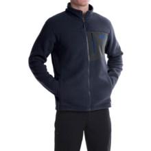 The North Face Chimborazo Fleece Jacket - Full Zip (For Men) in Cosmic Blue/Asphalt Grey - Closeouts