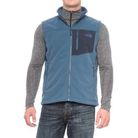 The North Face Chimborazo Fleece Vest (For Men) in Shady Blue/Urban Navy - Closeouts