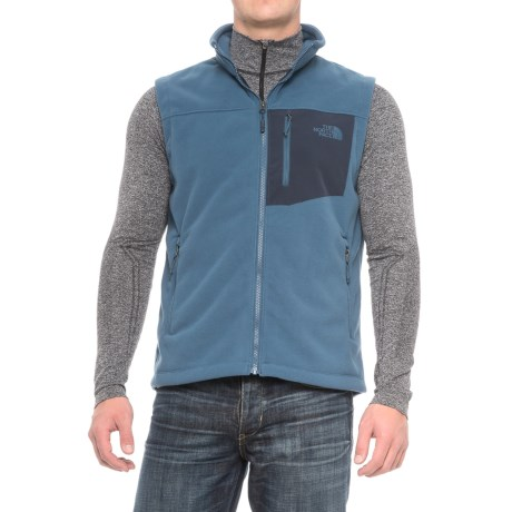 The North Face Chimborazo Fleece Vest (For Men) in Shady Blue/Urban Navy