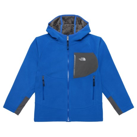 The North Face Chimborazo Hooded Jacket (For Little and Big Boys) in Bright Cobalt Blue