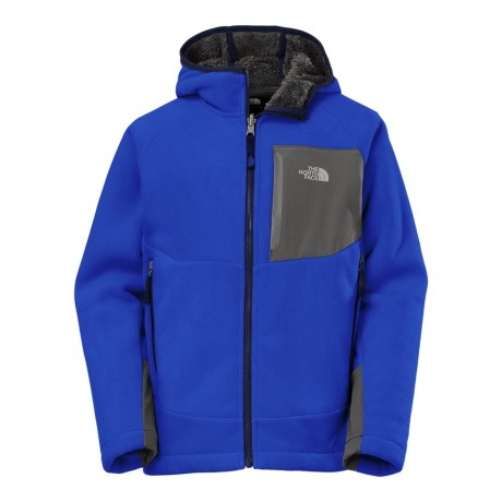 The North Face Chimborazo Hooded Jacket (For Little and Big Boys) in Honor Blue