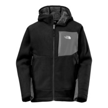 The North Face Chimborazo Hooded Jacket (For Little and Big Boys) in Tnf Black - Closeouts