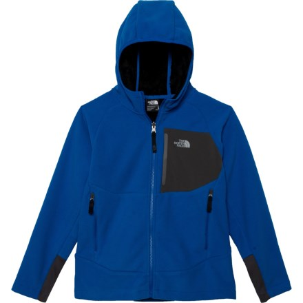 c6943549e The North Face Chimborazo Hooded Jacket (For Little and Big Boys) in  Turkish Sea