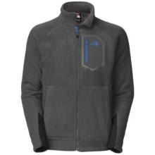 The North Face Chimborazo Jacket - Fleece (For Men) in Asphalt Grey - Closeouts
