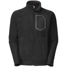 The North Face Chimborazo Jacket - Fleece (For Men) in Tnf Black - Closeouts