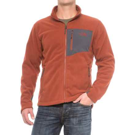 The North Face Chimborazo Jacket (For Men) in Brandy Brown/Asphalt Grey - Closeouts