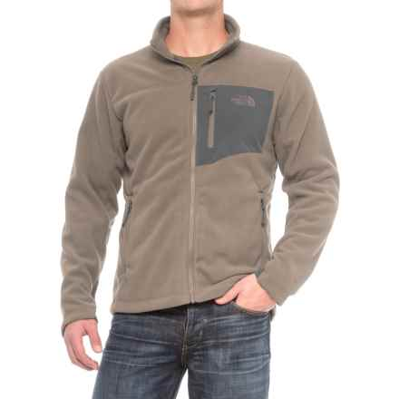 The North Face Chimborazo Jacket (For Men) in Falcon Brown/Asphalt Grey - Closeouts