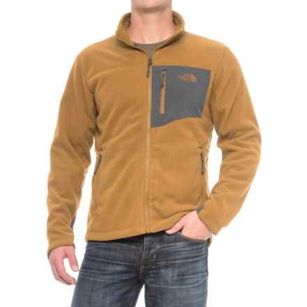 The North Face Chimborazo Jacket (For Men) in Golden Brown/Asphalt Grey - Closeouts