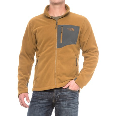 The North Face Chimborazo Jacket (For Men) in Golden Brown/Asphalt Grey