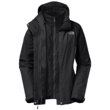 The North Face Cinnabar Triclimate® Jacket - Waterproof, Insulated, 3-in-1 (For Women) in Tnf Black/Tnf Black - Closeouts