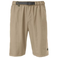 The North Face Class V Belted Trunks - UPF 50 (For Men) in Dune Beige - Closeouts