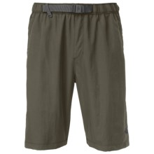 The North Face Class V Belted Trunks - UPF 50 (For Men) in New Taupe Green - Closeouts